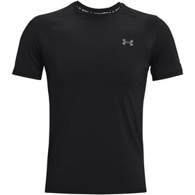 Under Armour Isochill Run 200 Short Sleeve Shirt Men black-pitch gray